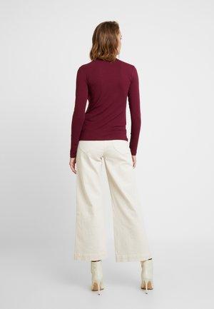 ESTER  - T-shirt à manches longues - tawny port