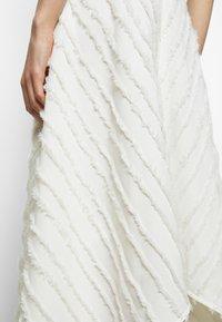 Proenza Schouler White Label - FRINGE FIL COUPE DRESS - Vapaa-ajan mekko - cream - 5