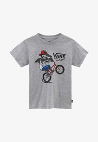 Vans - BY EXTREME SHARK SS KIDS - T-shirt imprimé - athletic heather - 0