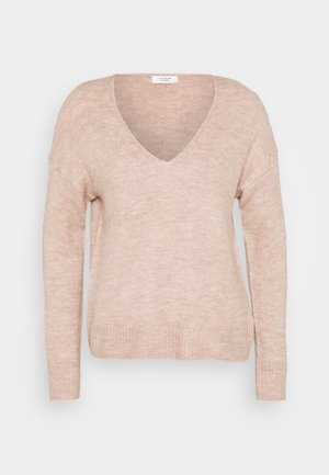 ELANORA  - Jumper - adobe rose/melange