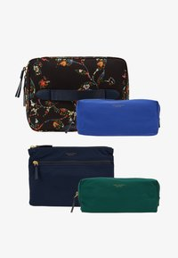 Tory Burch - PERRY NYLON PRINTED COSMETIC SET - Kosmetiktasche - sacred floral - 1