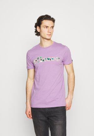 LANBRONE - Print T-shirt - lilac