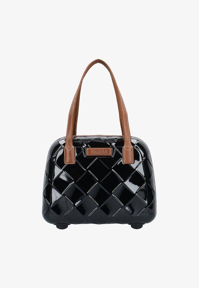 LEATHER & MORE - Wash bag - black