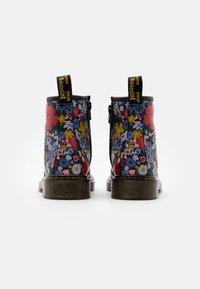 Dr. Martens - 1460 WANDERFLORA  - Lace-up ankle boots - black - 2