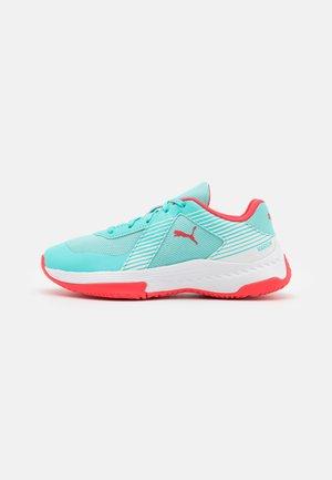 VARION JR UNISEX - Sports shoes - elektro aqua/sunblaze/white