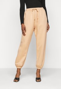 Missguided Petite - 90S JOGGERS - Tracksuit bottoms - tan - 0