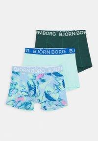 Björn Borg - MULTILEAVES SAMMY SHORTS 3 PACK - Panties - placid blue - 0