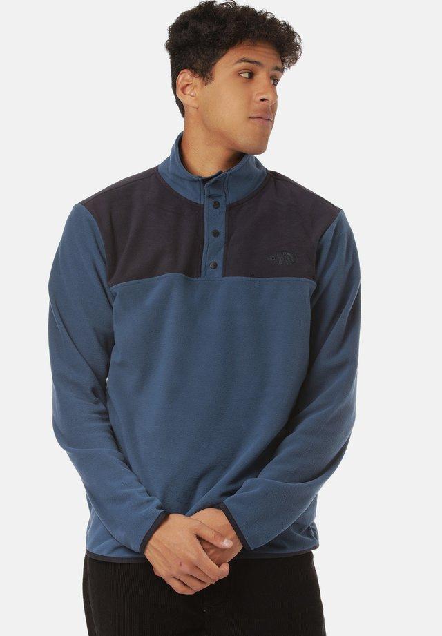 Fleecepullover - monterey blue/aviatornavy