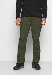 Black Diamond - STORMLINE PANTS - Outdoorové kalhoty - cypress - 0