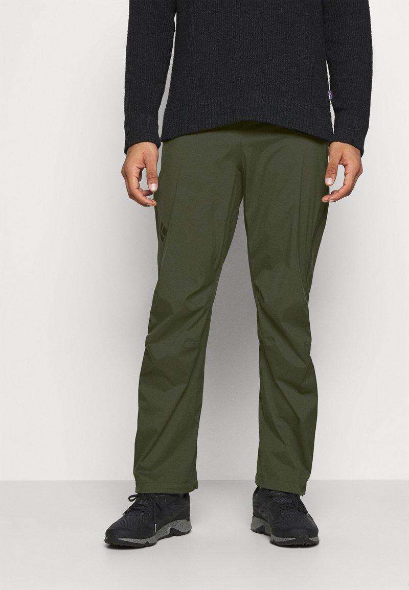 Black Diamond - STORMLINE PANTS - Outdoorové kalhoty - cypress