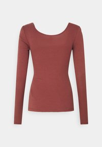 PIECES Tall - PCKITTE - Long sleeved top - apple butter - 1