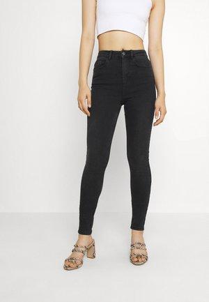 PCHIGHFIVE FLEX - Jeans Skinny Fit - dark grey denim