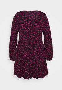 Evans - LIPS DRESS - Day dress - black - 1