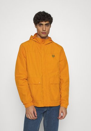 HOODED POCKET JACKET - Waterproof jacket - risk orange