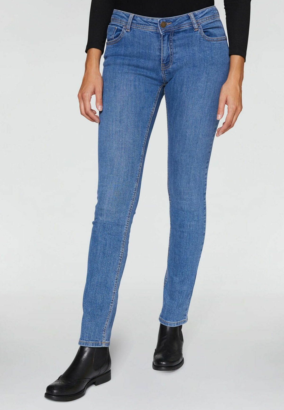 Donna STRAIGHT - Jeans a sigaretta