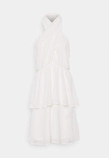 EXCLUSIVE MALVA HALTERNECK DRESS
