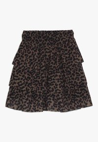 Name it - NKFLUCKY SKIRT - A-linjekjol - toasted coconut - 0
