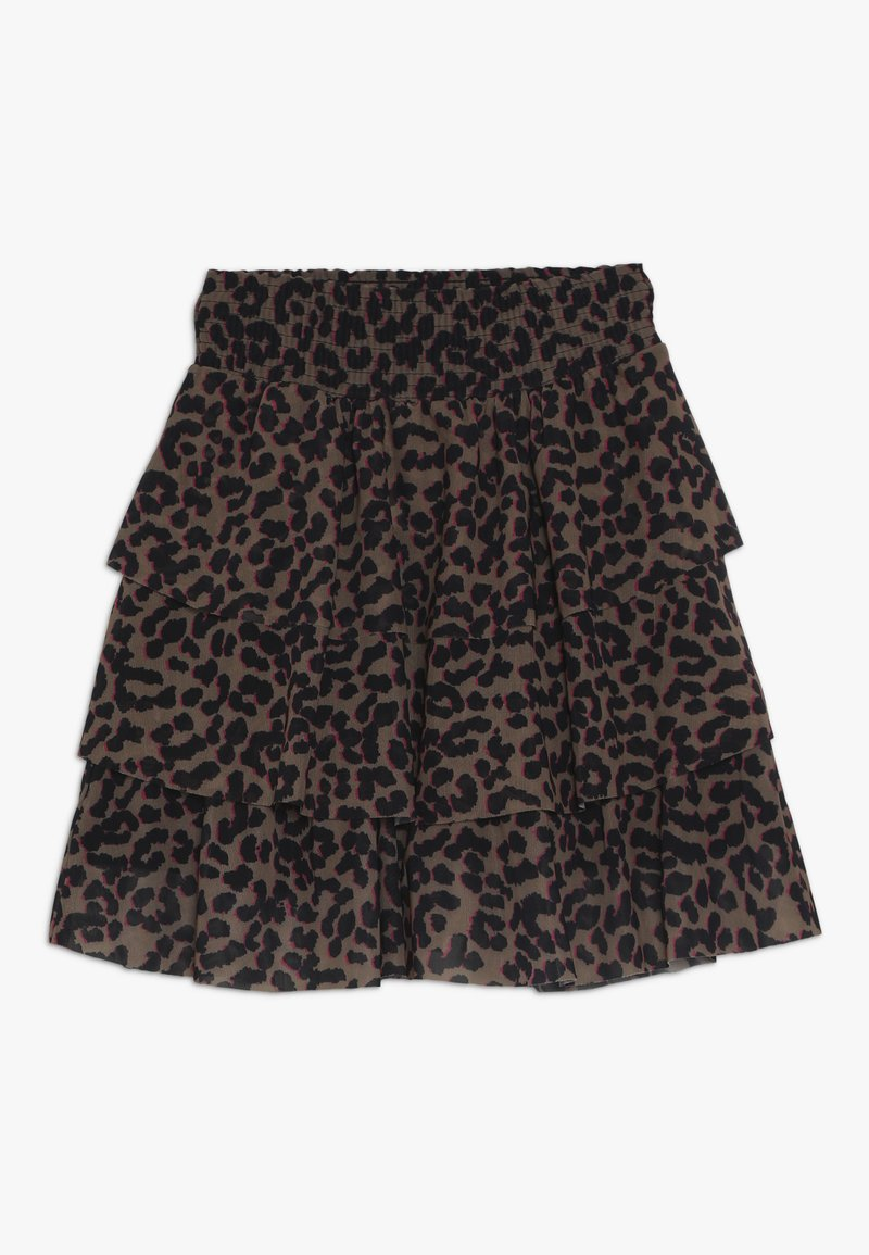 Name it - NKFLUCKY SKIRT - A-linjekjol - toasted coconut