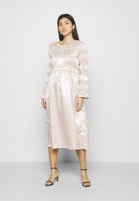 Love Copenhagen - LCTUSMA DRESS - Cocktail dress / Party dress - eggnog - 1