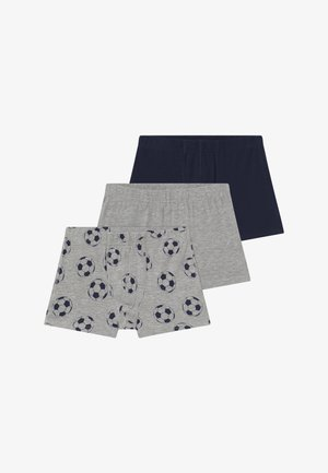NKMTIGHTS FOOTBALL 3 PACK  - Culotte - grey melange