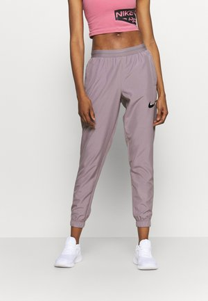 RUN PANT - Pantalon de survêtement - purple smoke/light violet/black