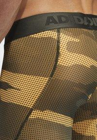 adidas Performance - ALPHASKIN SPORT CAMOUFLAGE LEGGING - Långkalsonger - flash orange - 6