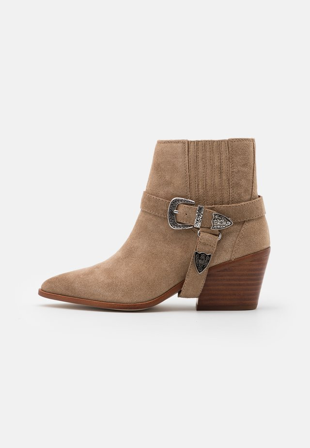 RAVELIN - Ankle boots - medium beige