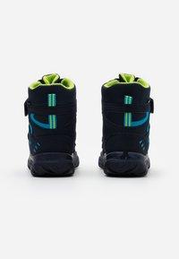 Superfit - HUSKY - Botas para la nieve - blau/grün - 2