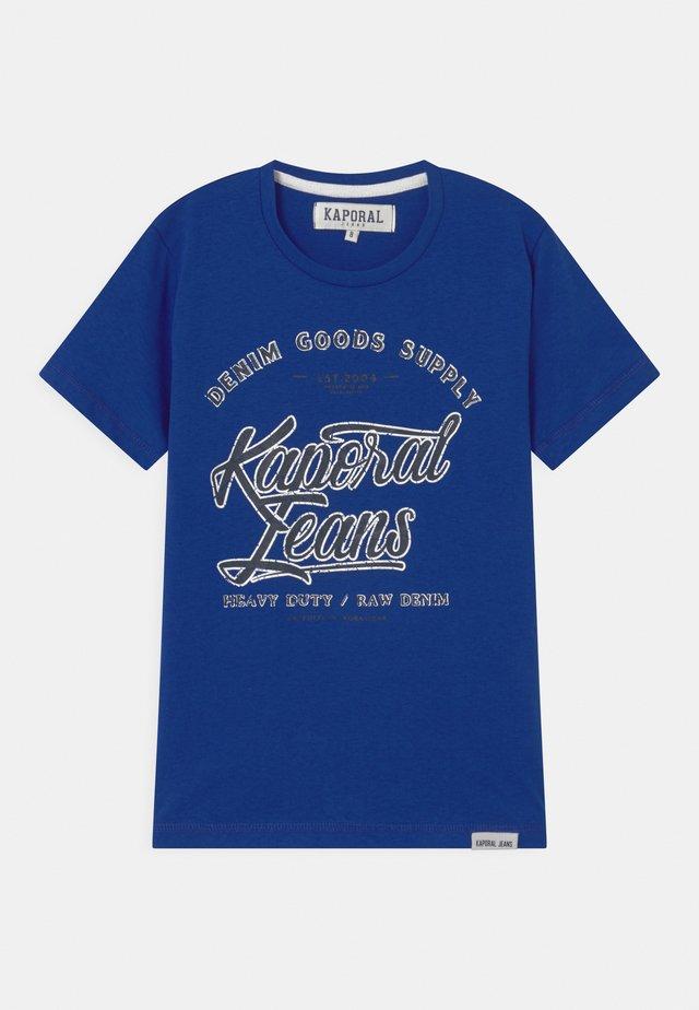 LOGO SCRIPT  - Print T-shirt - dark blue