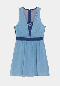 BIDI BADU - ANKEA TECH DRESS - Sportklänning - blue denim/dark blue - 1