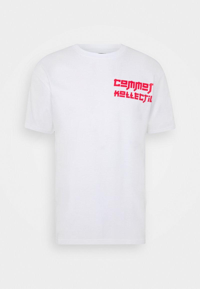 Common Kollectiv - MANGA TEE UNISEX - Print T-shirt - white