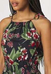 Pieces - PCMANURA STRAP DRESS - Sukienka letnia - black - 5