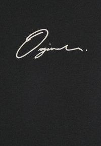 Jack & Jones - JORSCRIPTT TEE CREW NECK - Print T-shirt - black - 5