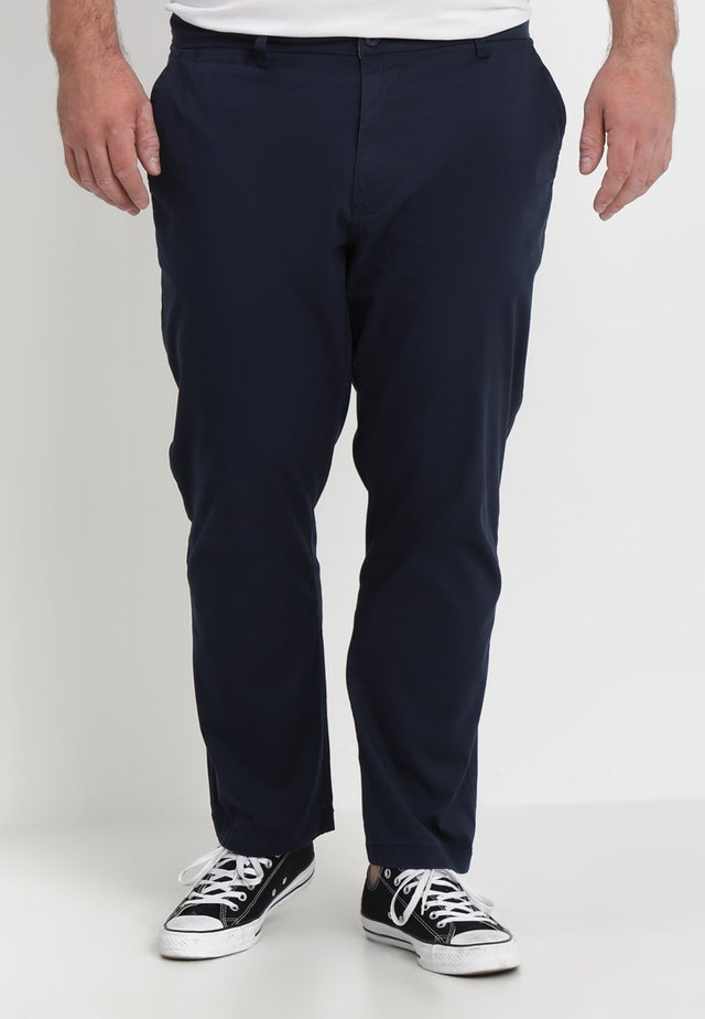 CAPSULE STRETCH PLUS - Chinos - navy