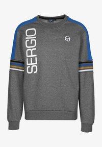 sergio tacchini - DANIEL  - Sweatshirt - dark grey melange/white - 0