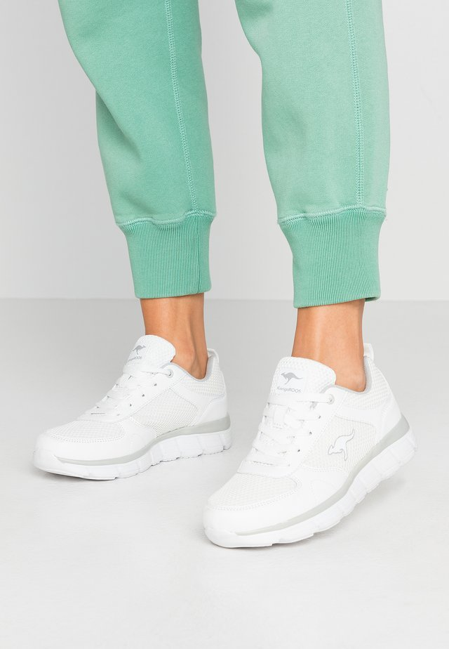 KR-ECHO - Baskets basses - white/silver