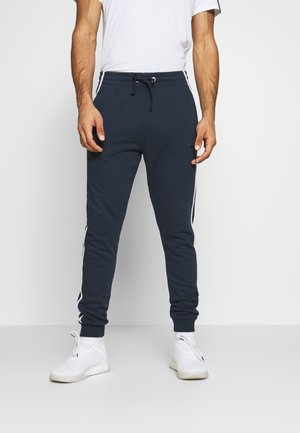 PANTS LOGO - Tracksuit bottoms - blue corsair