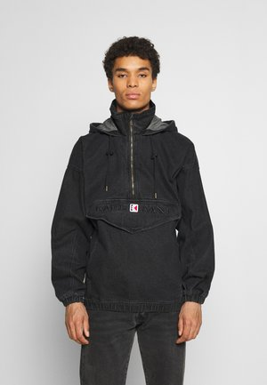 RETRO WASHED  - Windjack - black