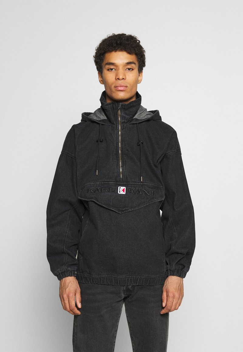 Karl Kani - RETRO WASHED  - Windbreaker - black