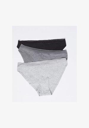 Shorty - black/light grey