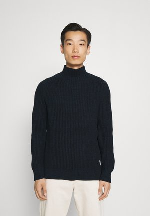 SADDLE SHOUL - Stickad tröja - manatee blue