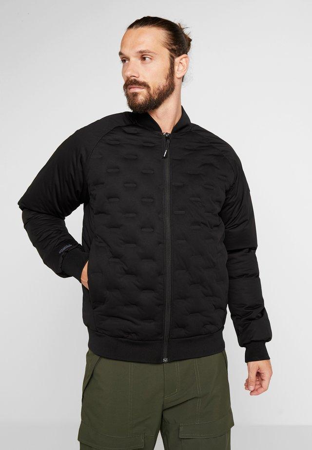 TECH WELD INSULATOR JACKET - Snowboard jacket - black out