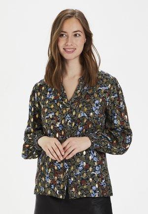 CUGISELLE - Button-down blouse - blue iris