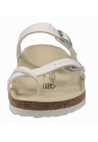 Birkenstock - T-bar sandals - white - 2