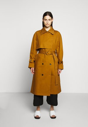 BELTED - Trenchcoat - tobacco