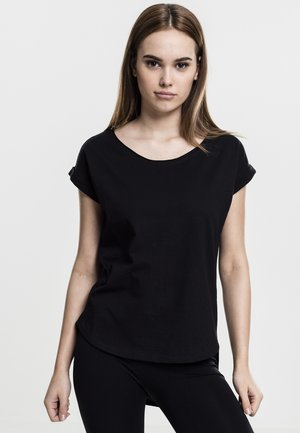 SLUB TEE - T-shirt basique - black