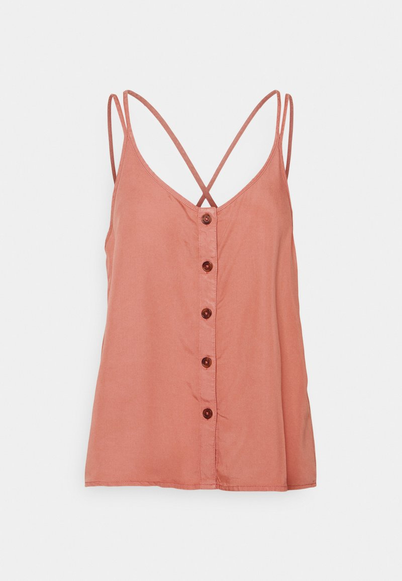 Noisy May - NMMAISIE ENDI STRAP  - Top - old rose