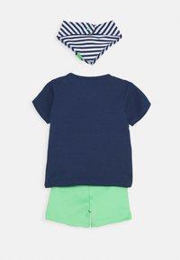 Staccato - BIB SET - Short - dark blue/green - 2