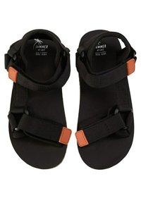 Mango - MET  - Sandals - zwart - 1