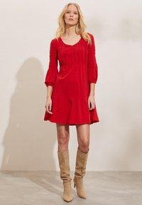Odd Molly - GLORIA - Jersey dress - cherry red - 1